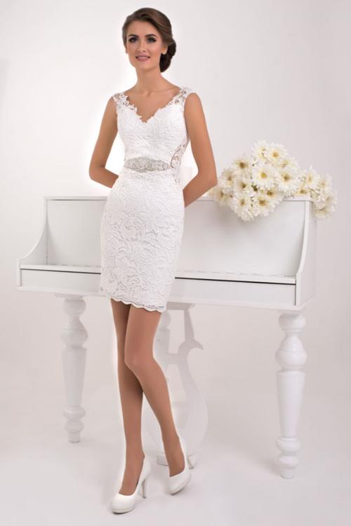 Svadobné šaty s odnímateľnou sukňou 2016