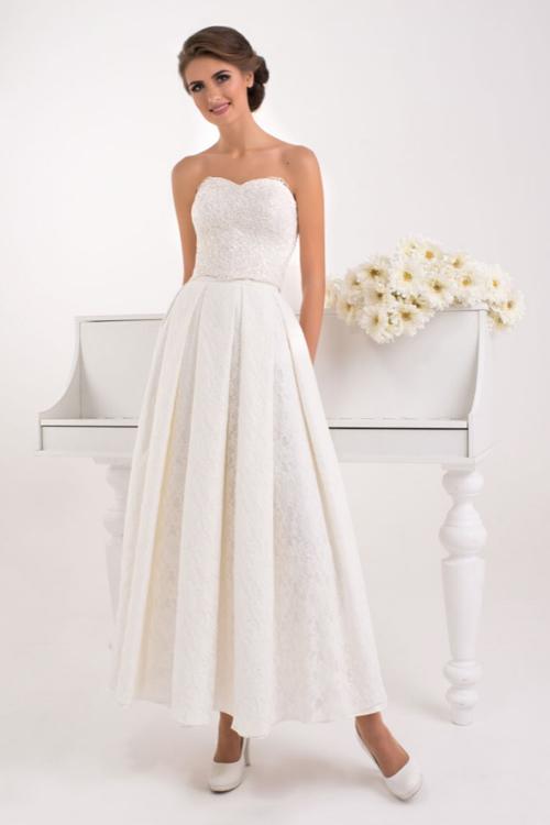 Dvojdielne svadobné šaty 2016 - korzet a sukňa