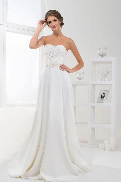 Elegantné svadobné šaty z mušelínu - trendy 2016