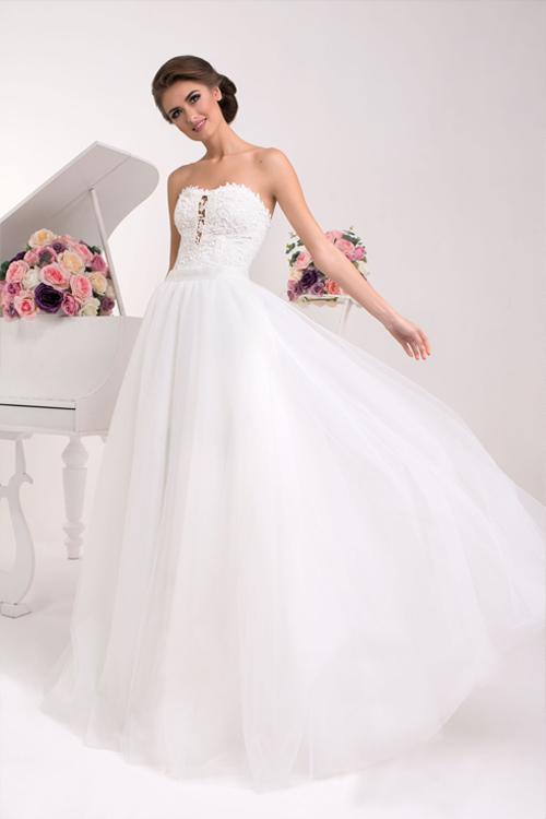 Dvojdielne svadobné šaty trend 2016