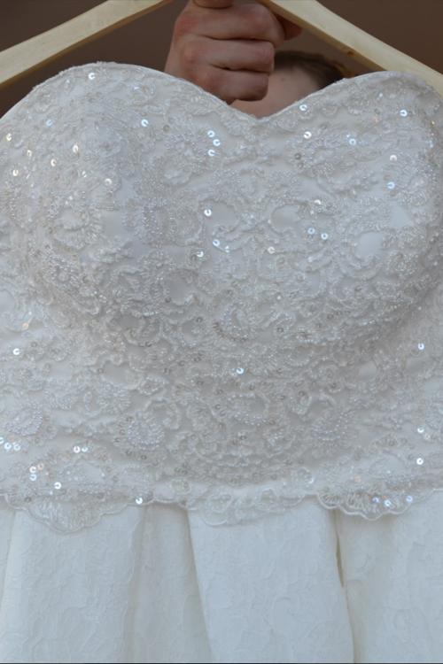 Svadobné šaty - dvojdielne